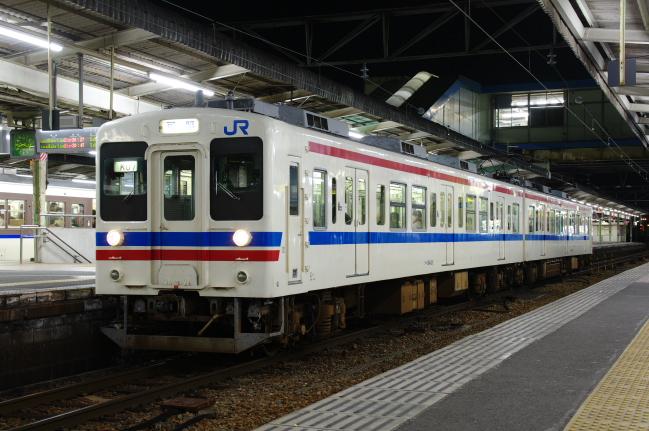 2012年3月20~23日 広島旅行 広島B 初日 105系