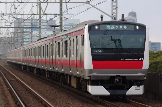 2012年4月7日 京葉線 ケヨ553+F53 検見川浜