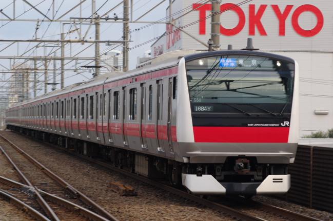 2012年4月7日 京葉線 ケヨ553+F53 新習志野