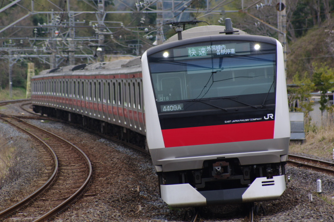 2012年4月7日 京葉線 ケヨ518 大網