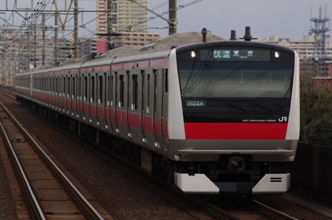 2012年4月7日 京葉線 ケヨ551+F51 検見川浜