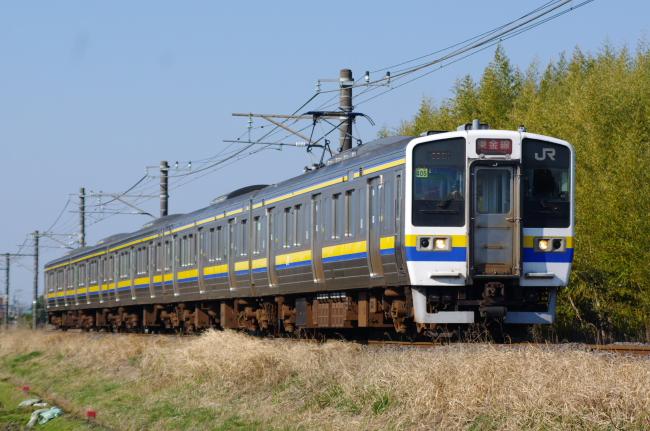 2012年4月8日 外房線 631M マリ504 求名-成東