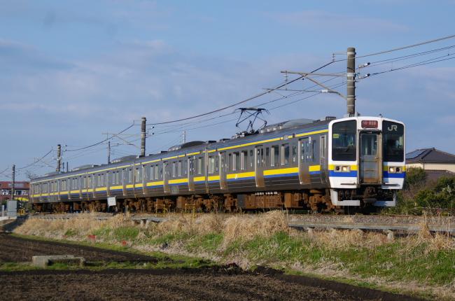 2012年4月8日 外房線 1627M マリ504 求名-成東
