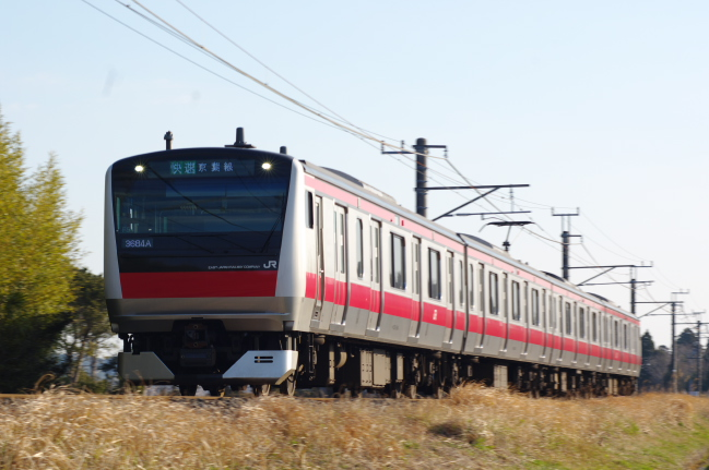 2012年4月8日 外房線 3684A ケヨF54 成東-求名