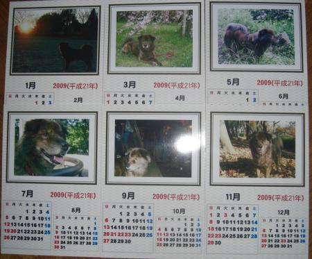 6枚カレンダー