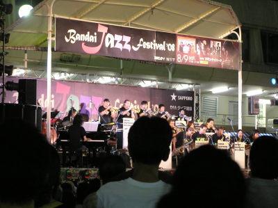 スイングブラザーズビックバンド-万代ジャズフェスティバル2008