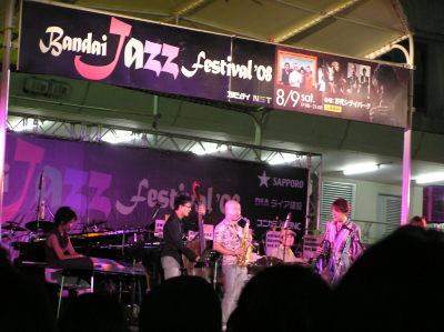TOKU-万代ジャズフェスティバル2008
