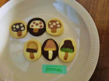 onnea・きのこクッキー
