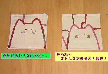 コースター猫1