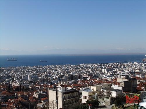 テサロニキ_見張り塔付近からの眺め (2)