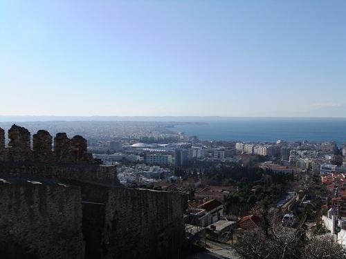テサロニキ_見張り塔付近からの眺め (1)