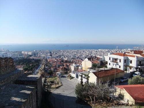 テサロニキ_見張り塔付近からの眺め (3)