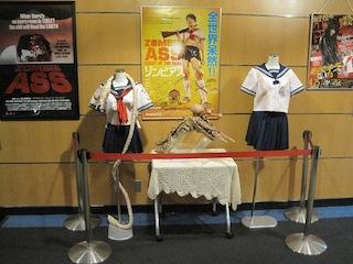 衣裳の展示