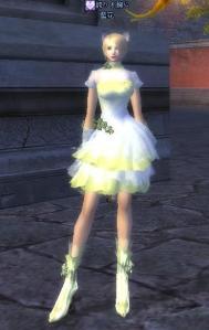ウェディングドレス(昼)