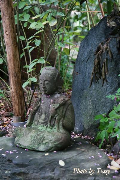 ハギの寺の石仏4