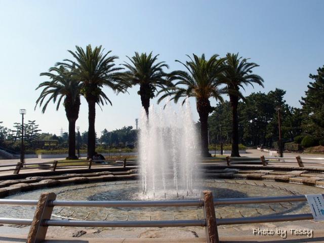 浜寺公園 噴水