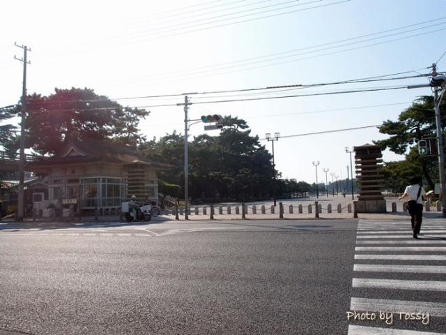 浜寺公園入口