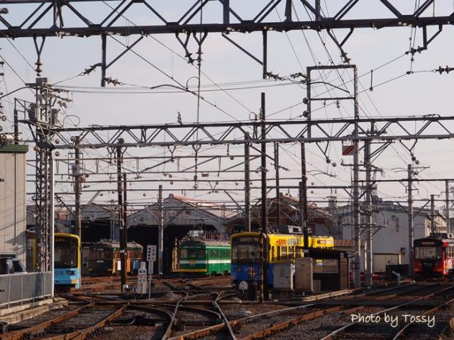 阪堺電車車庫
