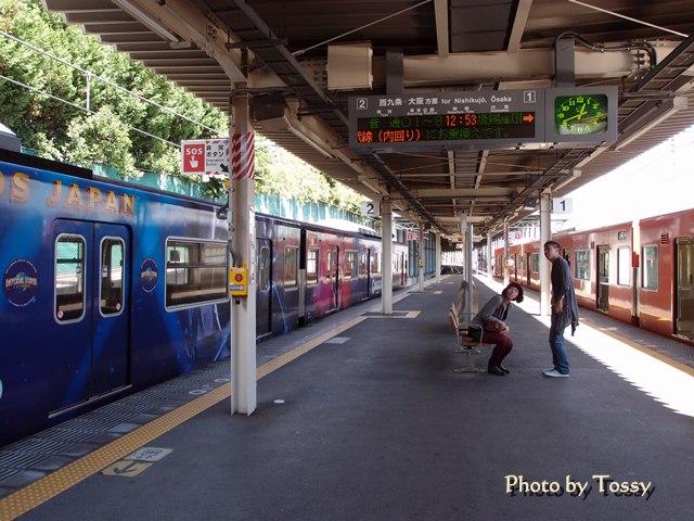 桜島駅ホーム
