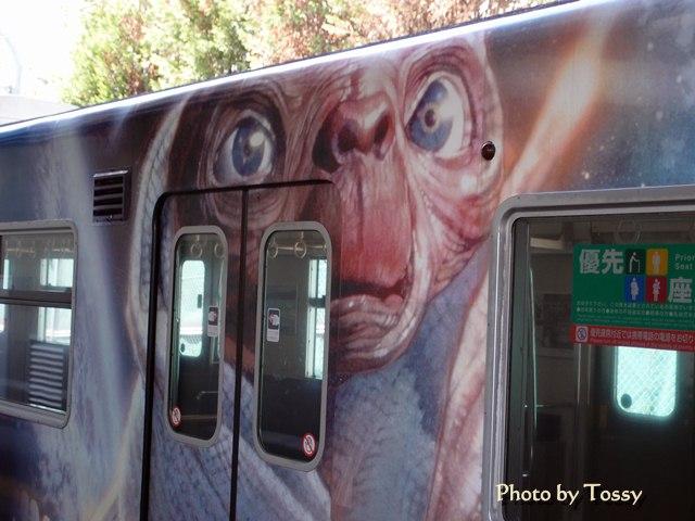 ラッピング電車 ET