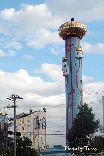 面白い建物 塔