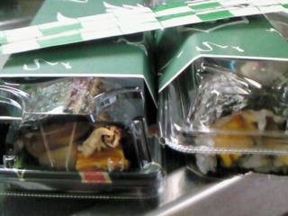 巻き寿司、美味かった(≧∀≦*)