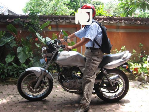 ダンナとバイク