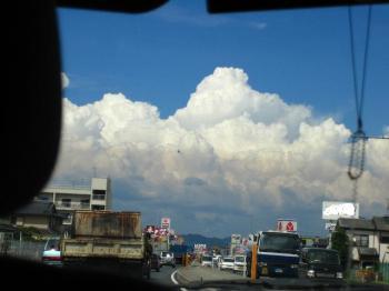 カズの入道雲