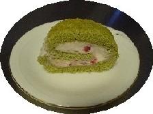 ロールケーキ切