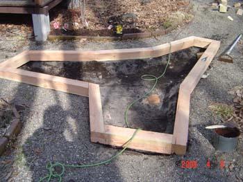 花壇2木枠組