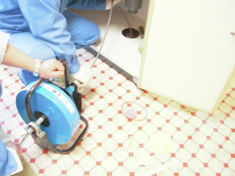 流し台 洗管
