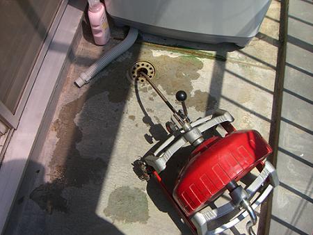 洗濯用排水管