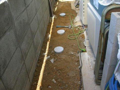 小口径の蓋の取付
