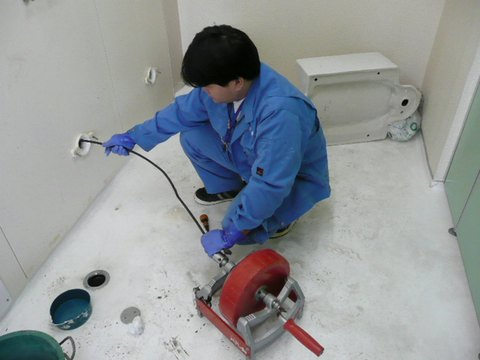 ワイヤー洗管
