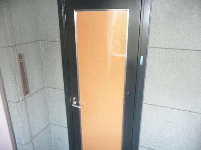 店舗玄関ドア リニューアル