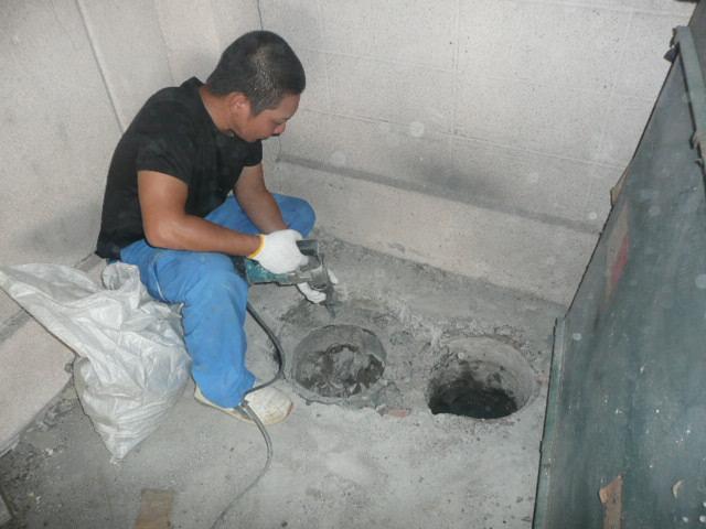 汚水マス改修工事
