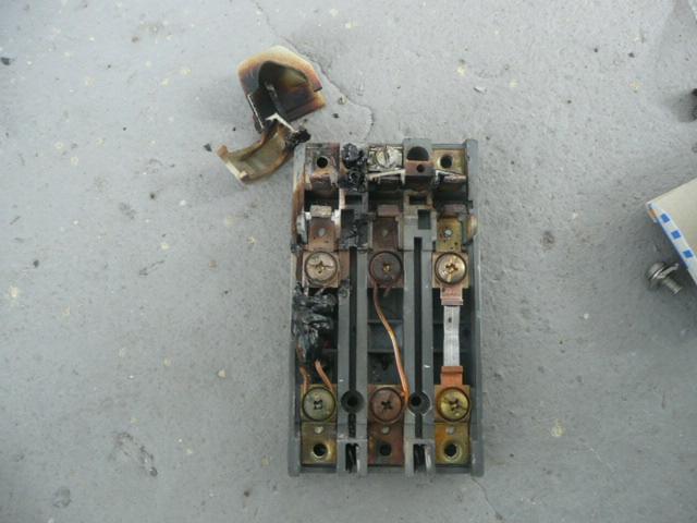 ブレーカー漏電