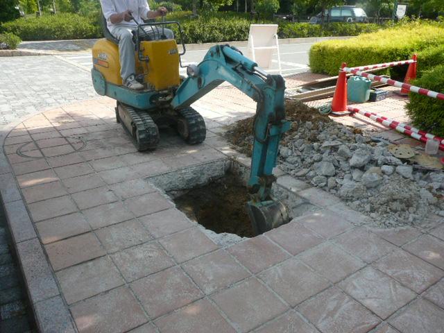 掘削・バックホー