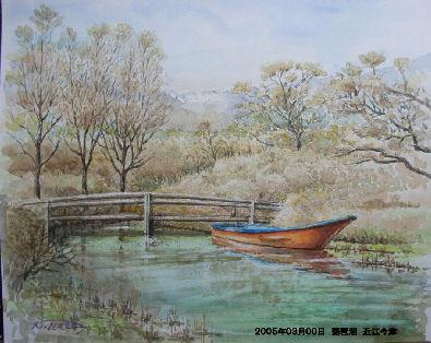 2005年03月00日 琵琶湖 近江今津