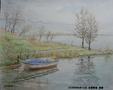 2005年04月10日 北琵琶湖 海津