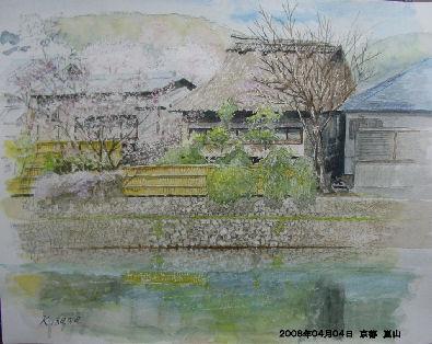 2008年04月04日 京都 嵐山