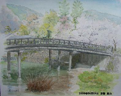 2008年04月04日 京都 嵐山-1