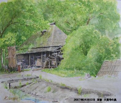 2007年06月00日 京都 大覚寺の奥