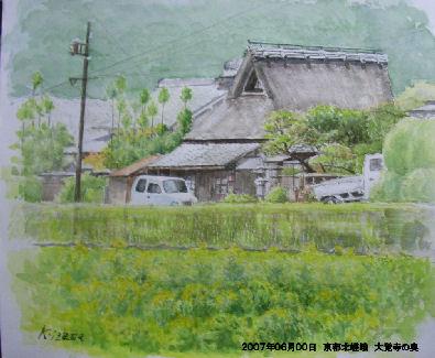 2007年06月00日 京都北嵯峨 大覚寺の奥