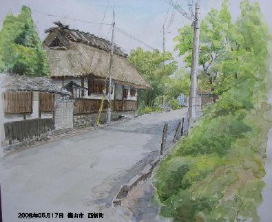 2008年05月17日 篠山市 西新町