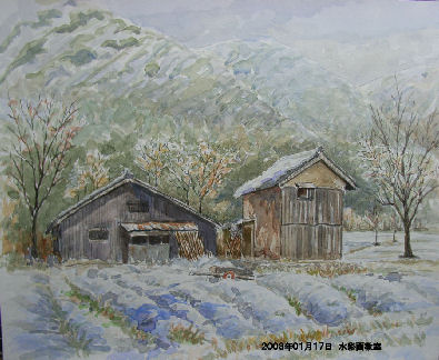 2003年01月17日 水彩画教室