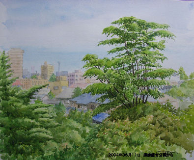 2004年06月11日 須磨離宮公園から
