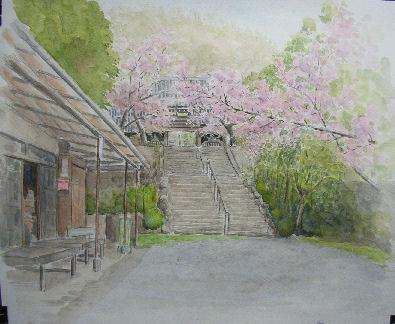 2009年04月16日 甲山の絵