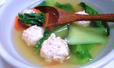 青梗菜スープ