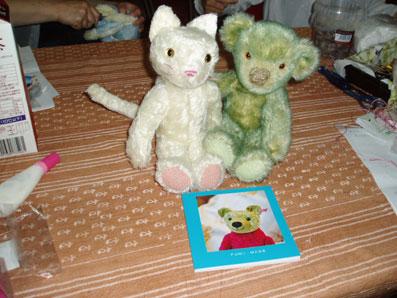 にゃんクマと緑クマ